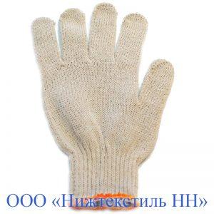Перчатки 7,5 кл 5-ти нитка ЛАЙТ без ПВХ