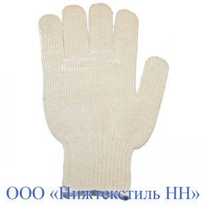 Перчатки 10 кл 5-ти нитка Люкс без ПВХ