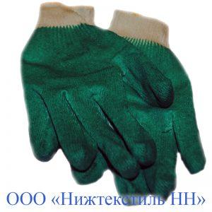 Перчатки Одинарный латексный облив