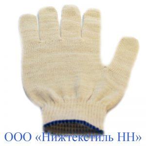 Перчатки 10 кл 4-нитка облегченная без ПВХ