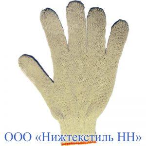 Перчатки 7,5 кл 4-нитка облегченная без ПВХ