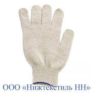 Перчатки 10 кл 5- ти нитка плотной вязки без ПВХ
